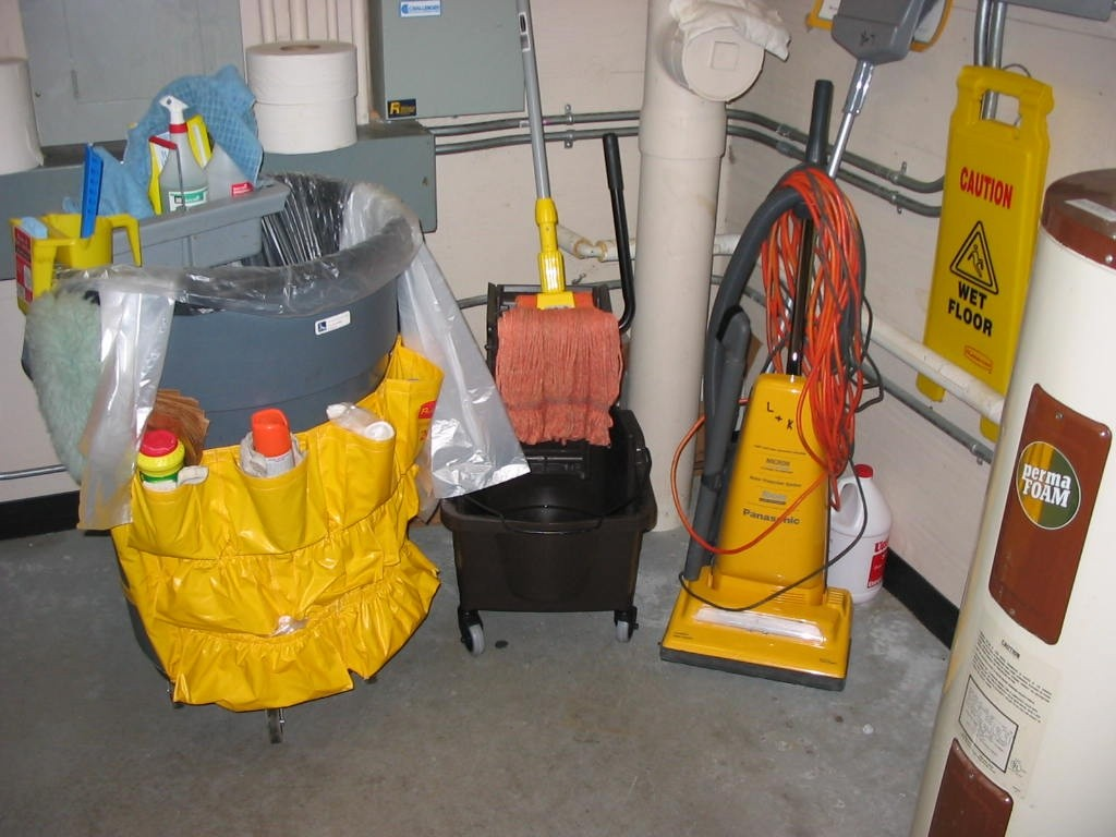 cleaning starts with our equipment